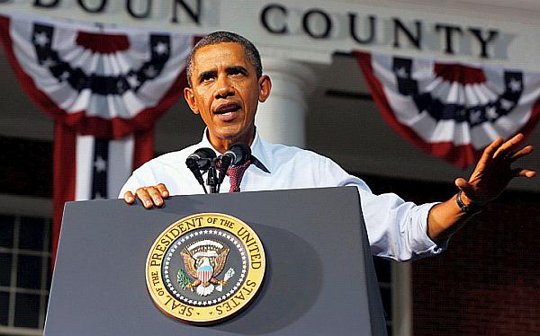 """Obama admitió sentirse """"celoso"""" por presencia de su esposa en JJ.OO."""