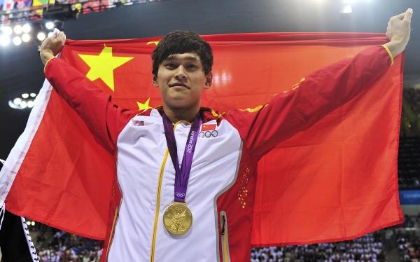 El chino Sun Yang batió el récord mundial en los 1.500 metros de natación