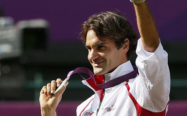 """Federer satisfecho con medalla de plata: """"No me siento un perdedor"""""""