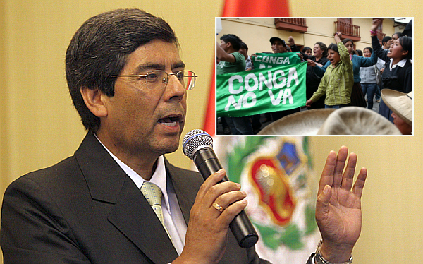 """Vocero de Gana Perú: llamado a paro en Cajamarca es """"una provocación"""""""