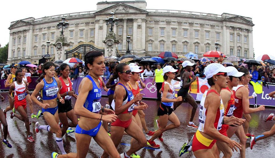 FOTOS: el esfuerzo de Inés Melchor y las atletas peruanas en la maratón de Londres 2012
