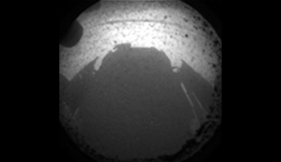 FOTOS: las primeras imágenes de Marte enviadas por el Curiosity