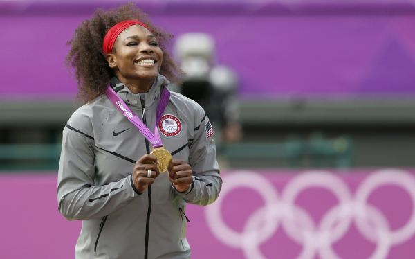 Serena Williams y su nuevo reto en Londres 2012: sumar pines