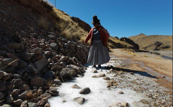 Esta semana continuarán las heladas en la sierra sur y central del Perú