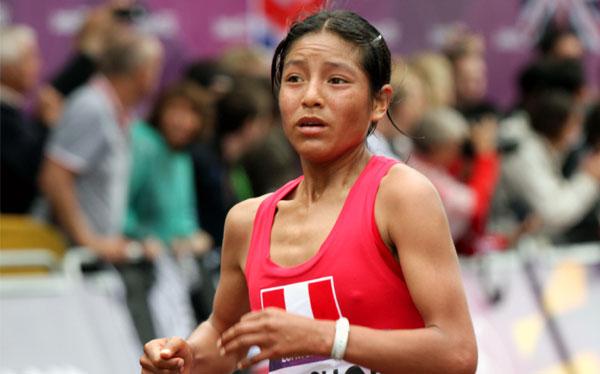 """Inés Melchor casi se retira de la maratón, pero pensó """"en el Perú y los peruanos"""""""