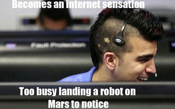 Bobak Ferdowsi, el científico de la NASA que se hizo famoso gracias a Curiosity