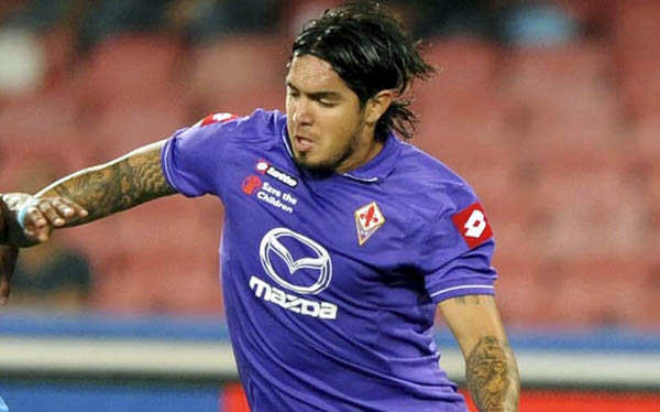 "Juan Manuel Vargas: ""Espero quedarme en la Fiorentina"""