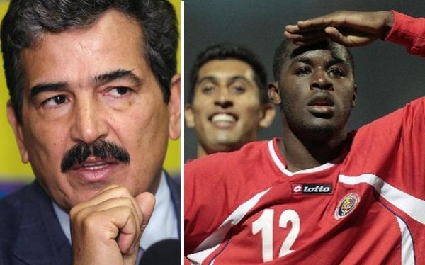 Costa Rica convocó a 20 jugadores para enfrentar a Perú
