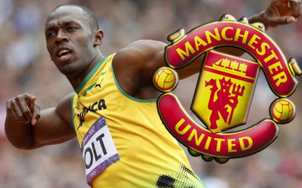 "Usain Bolt: ""Si me llama Ferguson, jugaría en el Manchester United"""