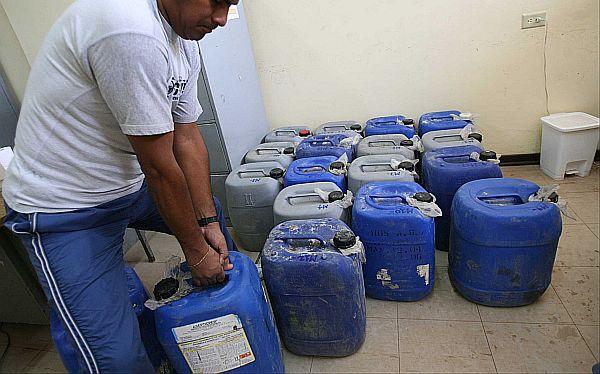 Más de 3 toneladas de insumos para elaboración de droga fueron destruidos