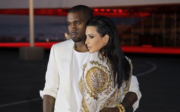 """Kanye West escribió canción para Kim Kardashian y la llamó """"Perfect Bitch"""""""