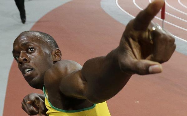 """Usain Bolt, a un paso del oro en 200 m: """"Estoy aquí para cimentar mi estatus de leyenda"""""""