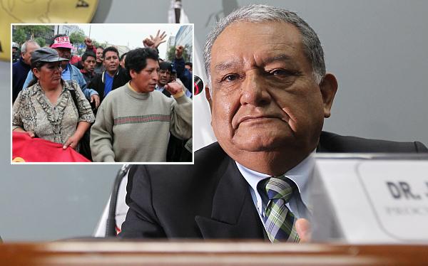 """""""El Conare es el segundo brazo político de Sendero Luminoso luego de Movadef"""", afirmó procurador Galindo"""