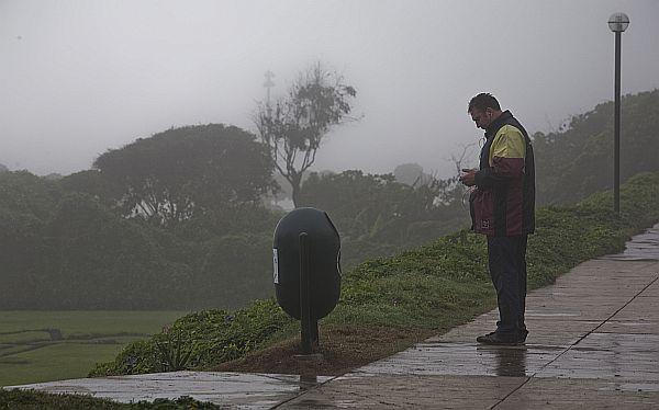 Garúas y cielo nublado en Lima continuarán durante el fin de semana