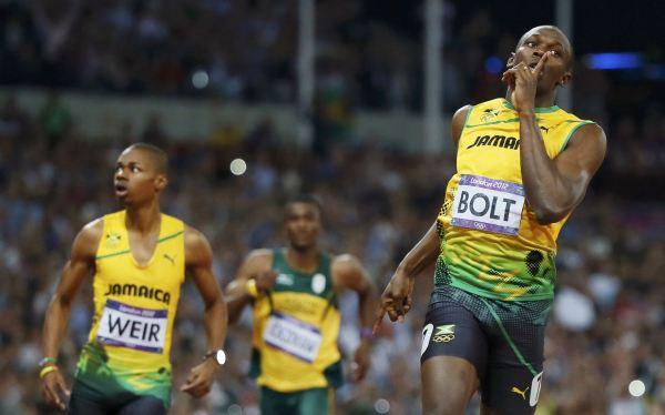 Usain Bolt ya es leyenda: ratificó su título en los 200 m en Londres 2012