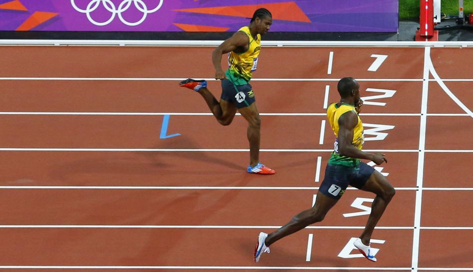 FOTOS: Usain Bolt y su carrera fantástica en los 200 metros planos