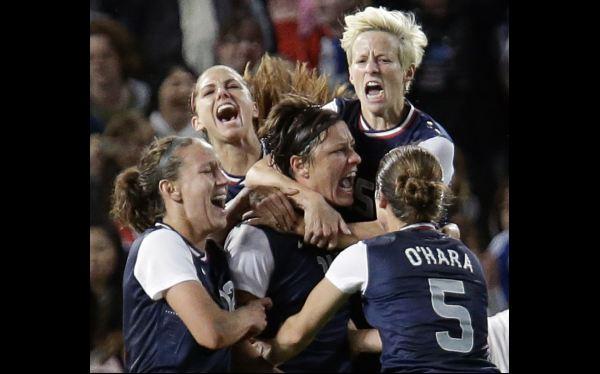 Estados Unidos venció 2-1 a Japón y ganó su cuarto oro olímpico en el fútbol femenino