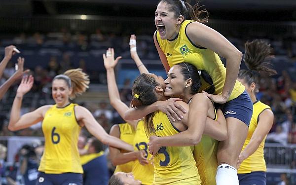 Brasil se llevó el oro olímpico tras vencer a EE.UU. en la final de vóley