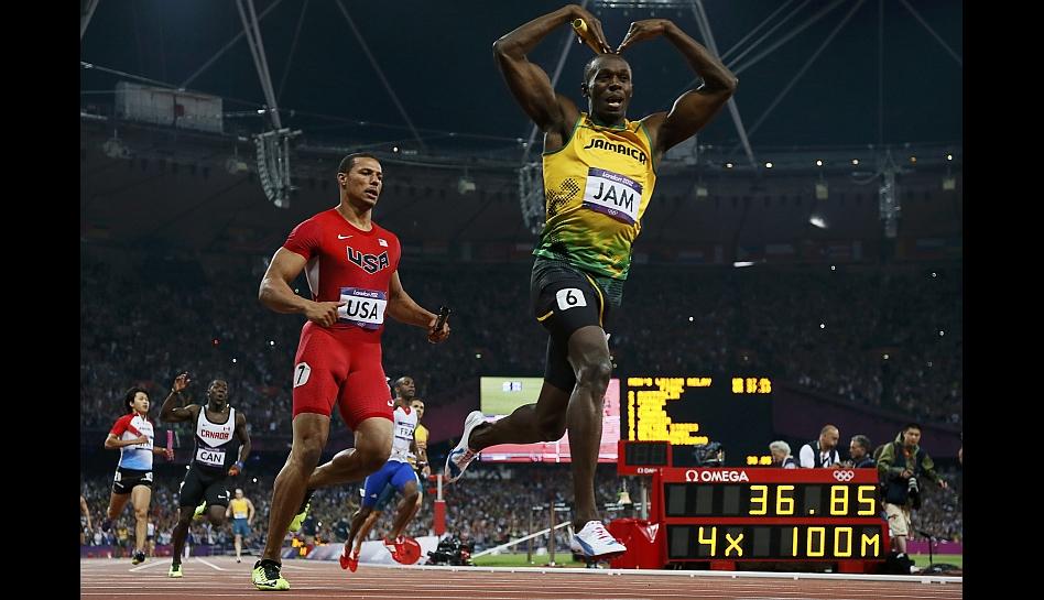 FOTOS: el triunfo de Usain Bolt, la leyenda del atletismo olímpico