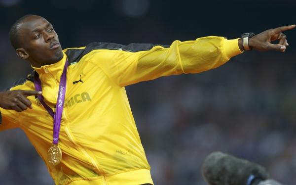 """Bolt tras su tercer oro: """"No sé si estaré en Río 2016, Blake viene muy fuerte"""""""