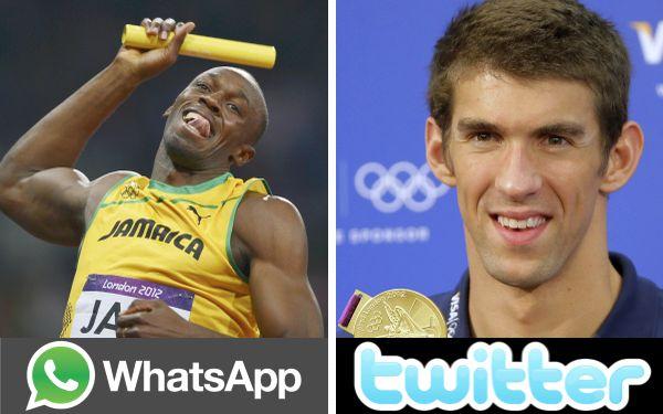 WhatsApp y Twitter se llevaron el oro olímpico en Londres 2012