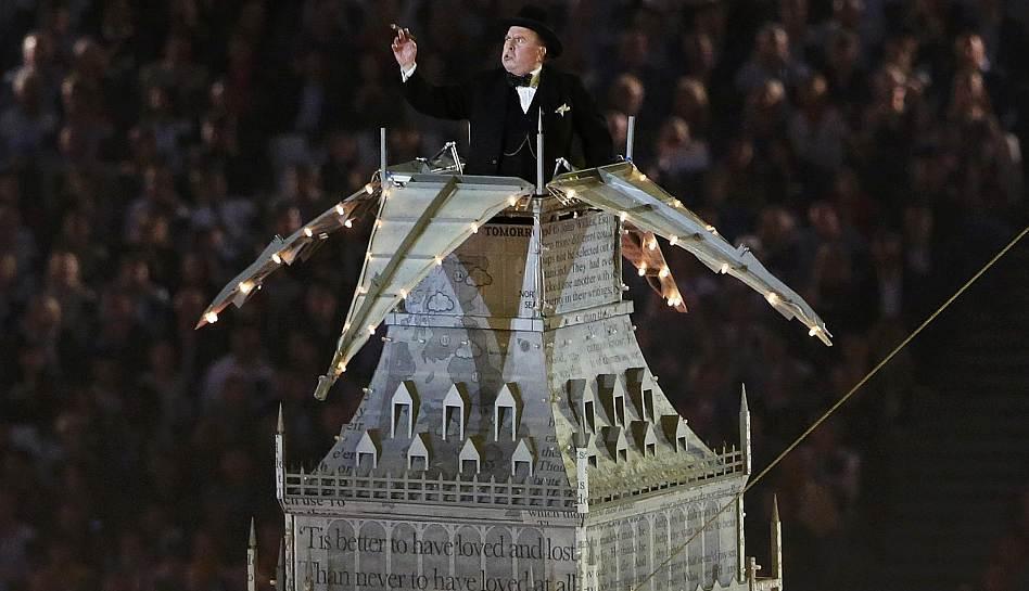 FOTOS: los artistas que brillaron en la ceremonia de clausura de Londres 2012