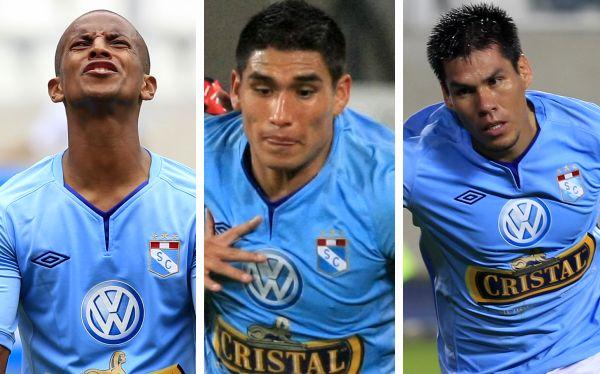 Rengifo, Ávila y Ross, el tridente de ataque que devolvió a Cristal a la Copa Libertadores