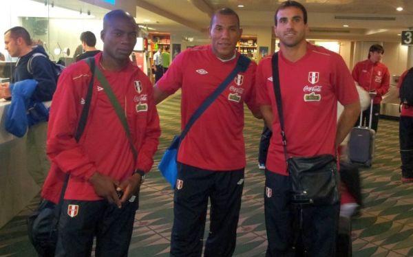 Selección peruana llegó a San José para duelo amistoso ante Costa Rica