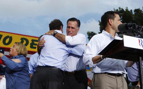 Mitt Romney hizo acto electoral en local de narcotraficante