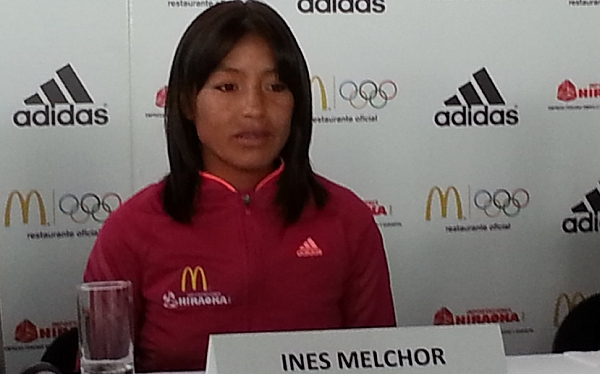 "Inés Melchor: ""No se pueden exigir medallas de un momento a otro"""