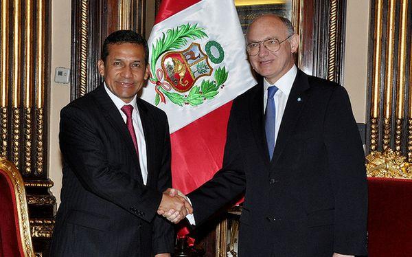 Ollanta Humala se reunió con canciller argentino