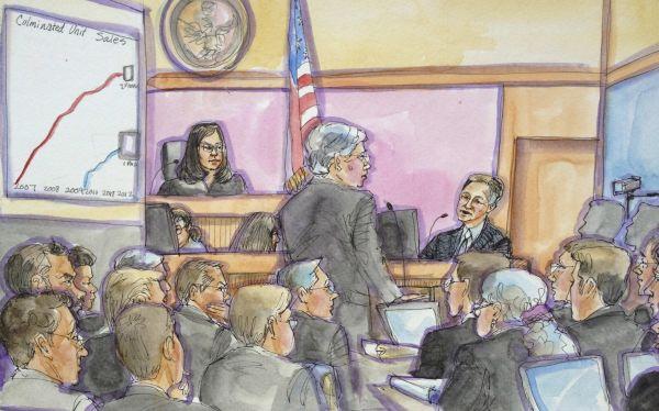 Jueza insta a Apple y Samsung a llegar a un acuerdo antes del verdicto