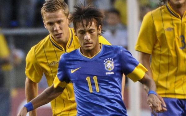 Brasil goleó 3-0 a Suecia en estadio donde 'nació' el mito Pelé