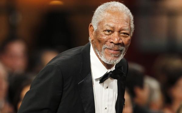 Morgan Freeman es el famoso que inspira más confianza en EE.UU., según Forbes