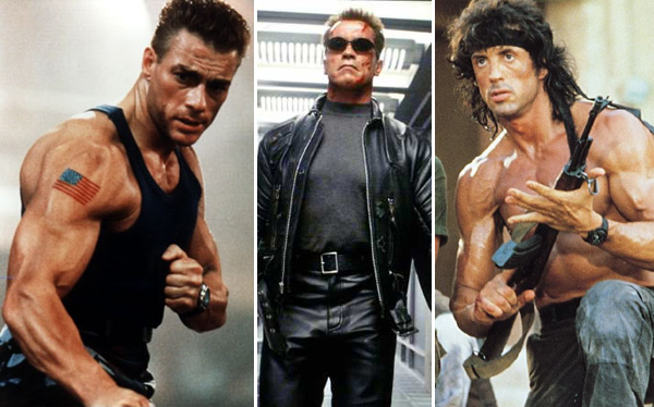 Duros de matar: los 10 actores más icónicos del cine de acción