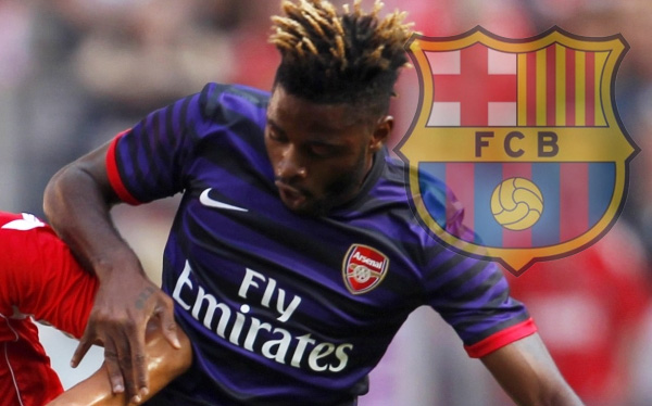 Barcelona contrató a Alex Song, el camerunés que tiene 27 hermanos