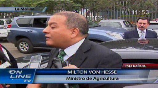 Minag: alza global de alimentos ya fue asimilado por el mercado nacional