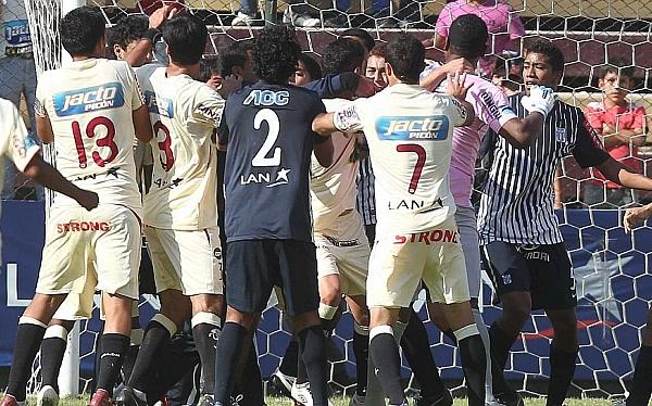 Castigaron a 'Pancho' Pizarro con cuatro fechas de suspensión y a 'Chiquito' Flores con tres