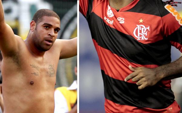 Adriano se convirtió en nuevo jugador del Flamengo