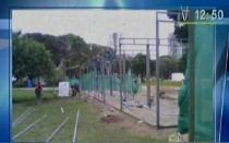 Mistura 2012: vecinos de Jesús María denuncian la caída de rejas en el Campo de Marte - Noticias de inauguración de mistura