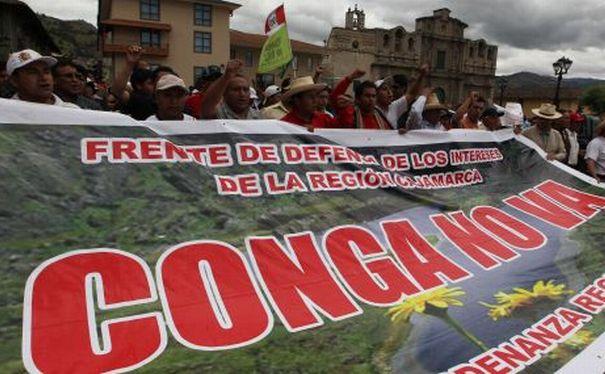 El 78% de cajamarquinos rechaza el proyecto minero Conga