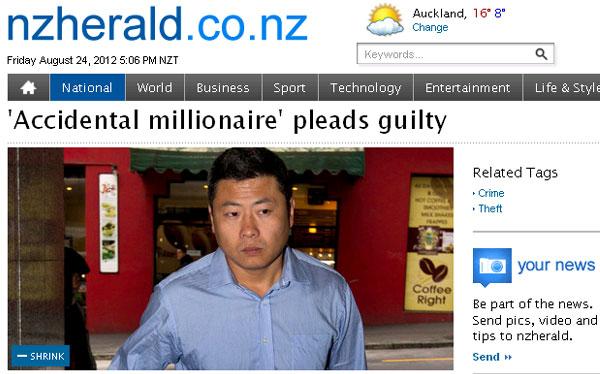 Hombre irá a prisión por fugar con US$8 mlls que banco depositó por error