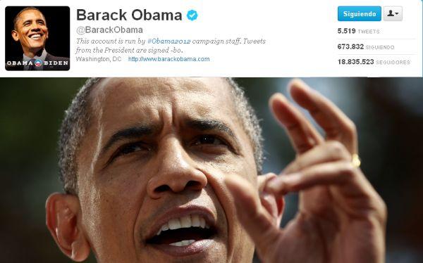 El 70% de los seguidores de Barack Obama en Twitter son falsos