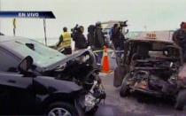 Accidente en la Costa Verde deja un muerto y tres heridos - Noticias de rogelio huamani