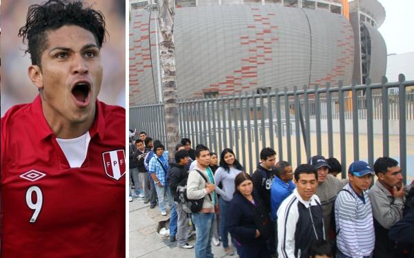 Precios de las entradas para partidos de Perú ante Venezuela y Argentina