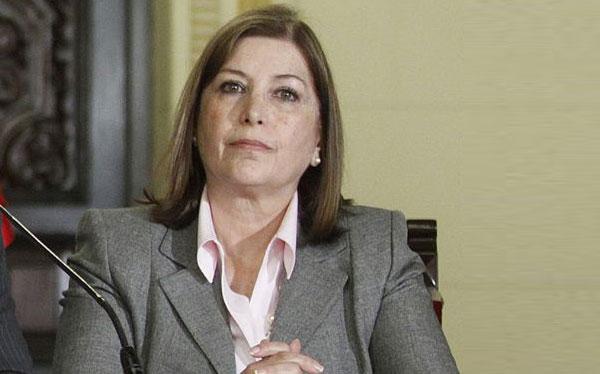Ministra Rivas: No hubo autorización para que Elena Iparraguirre dé entrevista