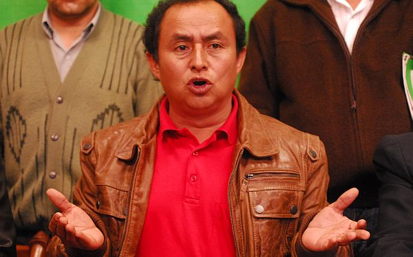 Gregorio Santos pidió S/. 155 millones para obras en Cajamarca