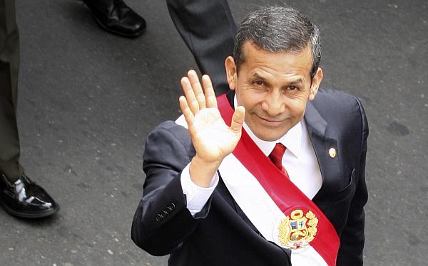 Aprobación de Ollanta Humala subió cinco puntos en un mes, según Ipsos Apoyo