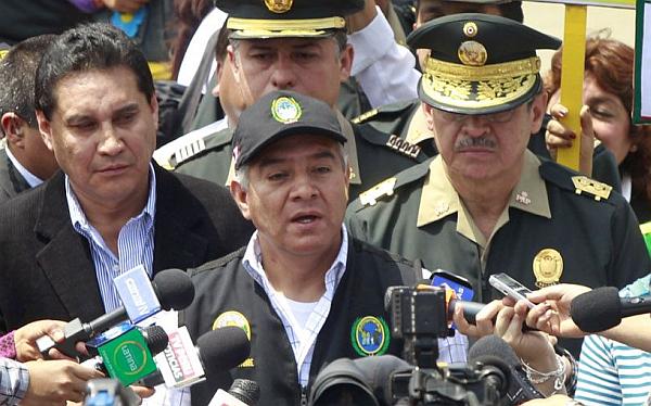 """Ministro del Interior: """"En los últimos años no se ha invertido nada en la Policía"""""""