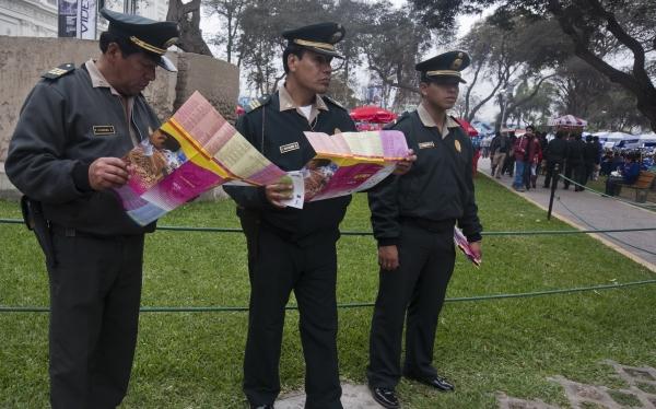 Mistura 2012: cerca de 600 agentes se encargarán de la seguridad